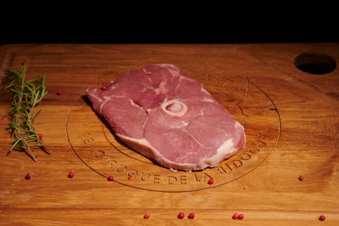 Gigot tranché - Agneau Poids : environ 300g - Prix au kilo € TTC : 20 €/Kg - 1