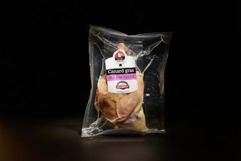 Cuisse confite - Canard Poids : environ 200g - Prix au kilo € TTC :25 €/Kg - 1