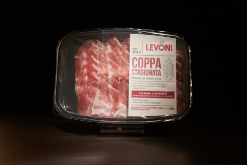 Coppa - LEVONI Poids: 80g - Prix au kilo € TTC :56,25€/Kg - 1