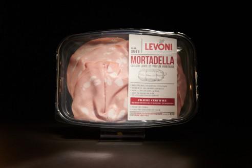 Mortadelle - LEVONI Poids: 100g - Prix au kilo € TTC : 30€/Kg - 1
