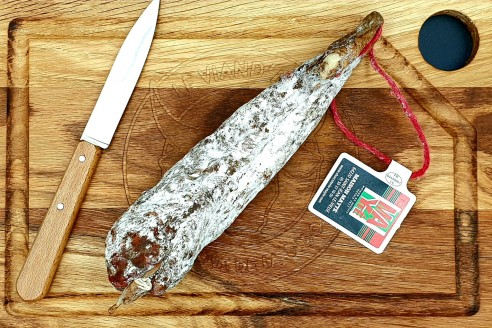 Chorizo basque Poids: 220g - Prix au kilo € TTC :31,80 €/Kg - 1
