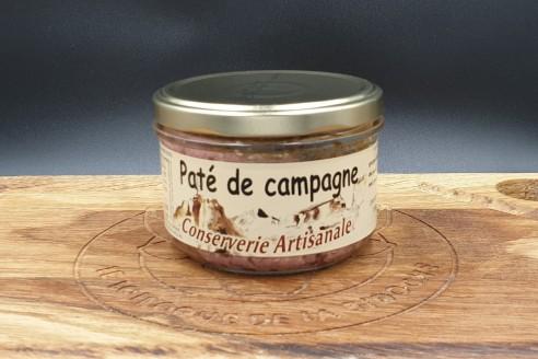 Pâté de campagne Poids: 180g - Prix au kilo € TTC : 19,45 €/Kg - 1