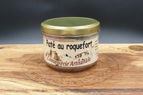 Pâté au Roquefort Poids: 180g - Prix au kilo € TTC :27,80 €/Kg - 1