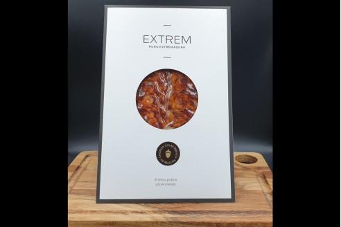 "Chorizo ibérique 100% Bellota ""EXTREM"" Poids: 80g - Prix au kilo € TTC :68,75 €/Kg - 1"