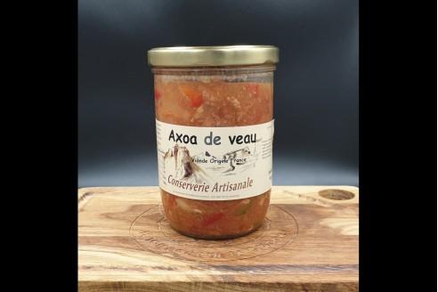 Axoa de Veau Poids: 750g - Prix au kilo € TTC : 29,35 €/Kg - 1