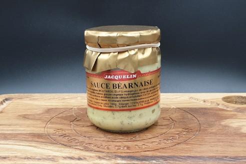 Sauce béarnaise Jacquelin Poids: 180gr - Prix au kilo € TTC : 25 €/Kg - 1