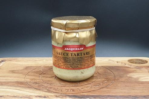 Sauce tartare Jacquelin Poids: 180gr - Prix au kilo € TTC : 25 €/Kg - 1