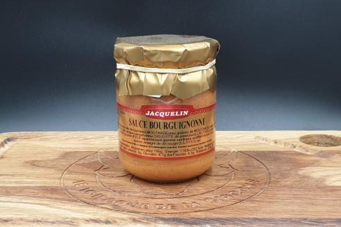 Sauce bourguignone Jacquelin Poids: 180gr - Prix au kilo € TTC : 25 €/Kg - 1