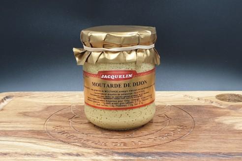 Moutarde de Dijon Jacquelin Poids: 200gr - Prix au kilo € TTC : 22,50 €/Kg - 1