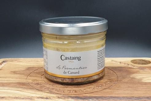 Parmentier de canard Castaing Poids: 400g - Prix au kilo € TTC : 30 €/Kg - 1