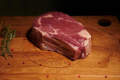 Côte de Boeuf - Boeuf d'Ecosse Poids : environ 1 kg - Prix au kilo € TTC : 29 €/Kg - 1