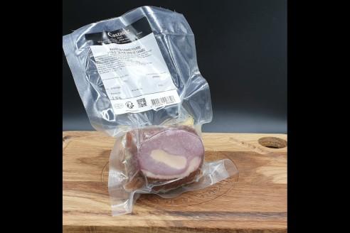 Rôti de magret au foie gras - Castaing Poids: environ 550g - Prix au kilo € TTC :65 €/Kg - 1