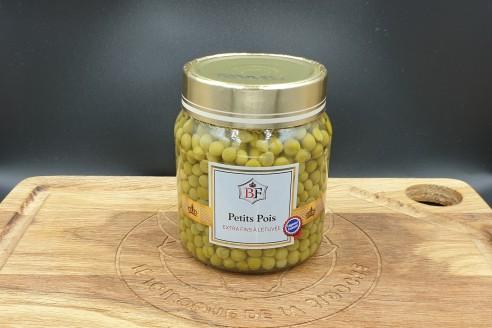 Légumes - Petits pois Poids: 330 gr, égoutté 230 gr- Prix au kilo € TTC : 22,60 €/Kg - 1