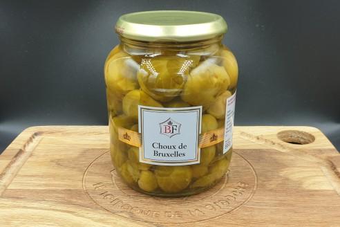 Légumes - Choux de Bruxelles Poids: 660 gr, égoutté 420 gr- Prix au kilo € TTC : 9,52 €/Kg - 1