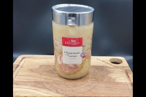 Choucroute garnie au Riesling Poids: 600 gr - Prix au kilo € TTC : 16,5 €/Kg - 1